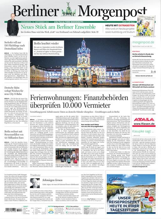 Berliner Morgenpost-Prämienabo Titelbild