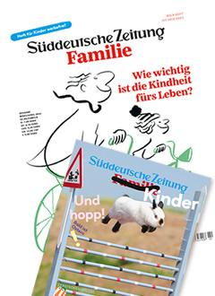 Süddeutsche Zeitung Familie Abo Titelbild
