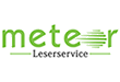 Meteor Leserservice Logo
